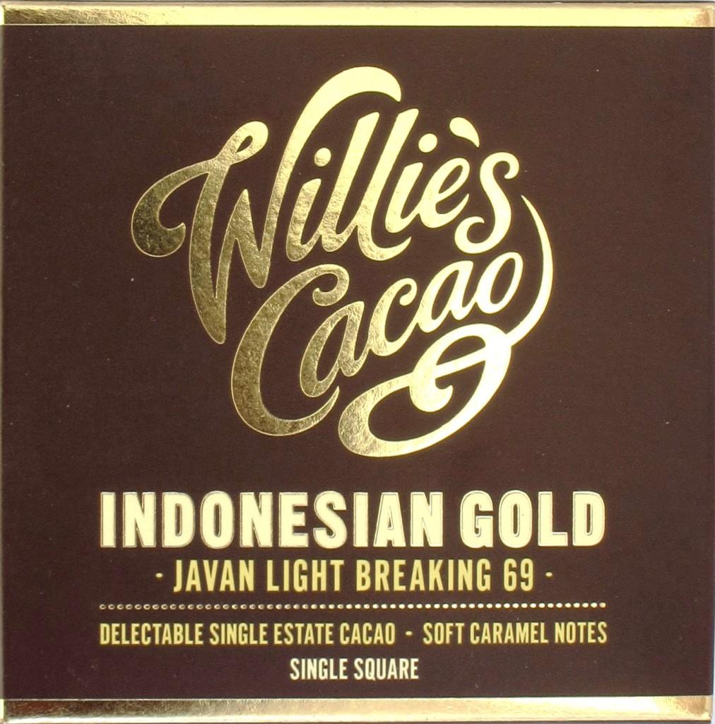 Willie's Cacao Java-Schokolade Indonesian Gold 69%