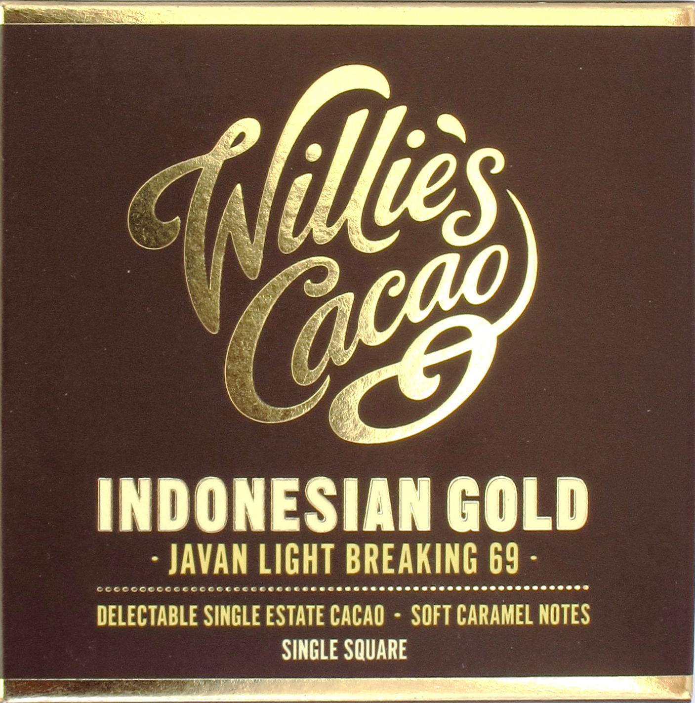 Willie's Cacao Java-Schokolade Indonesian Gold 69%