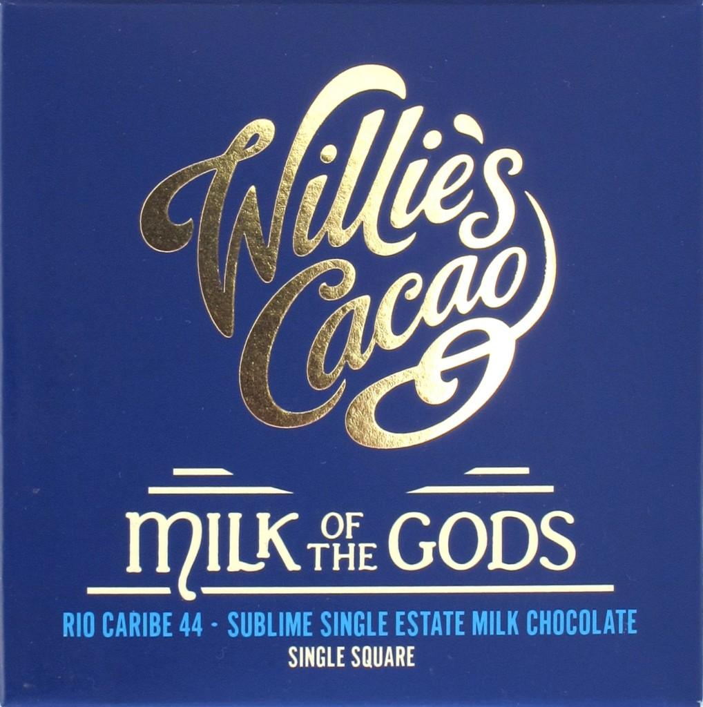 Wille's britische Milchschokolade (44%)