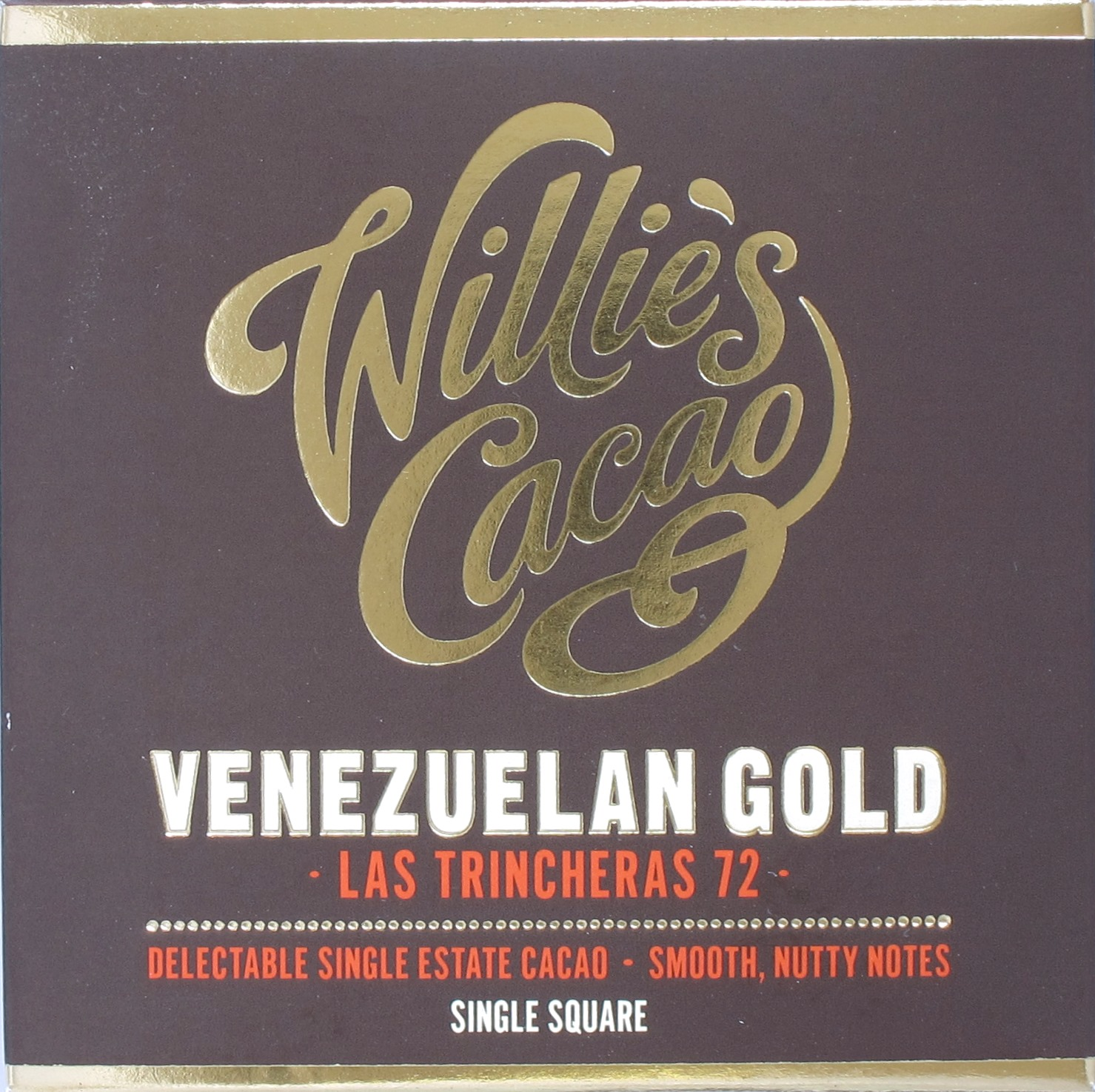 Willie's Venezuelan Gold 72%