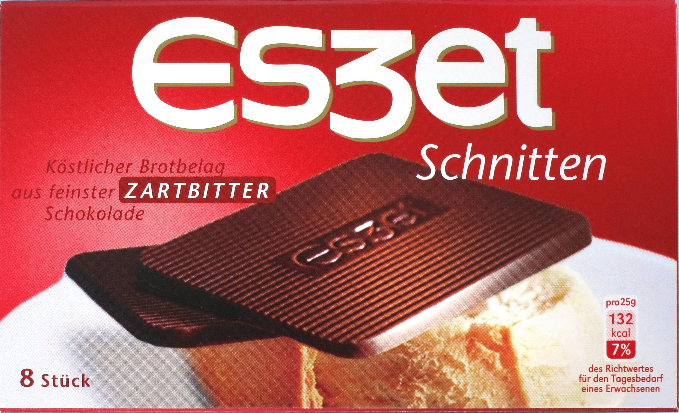 Eszet-Schnitten 50% Zartbitter