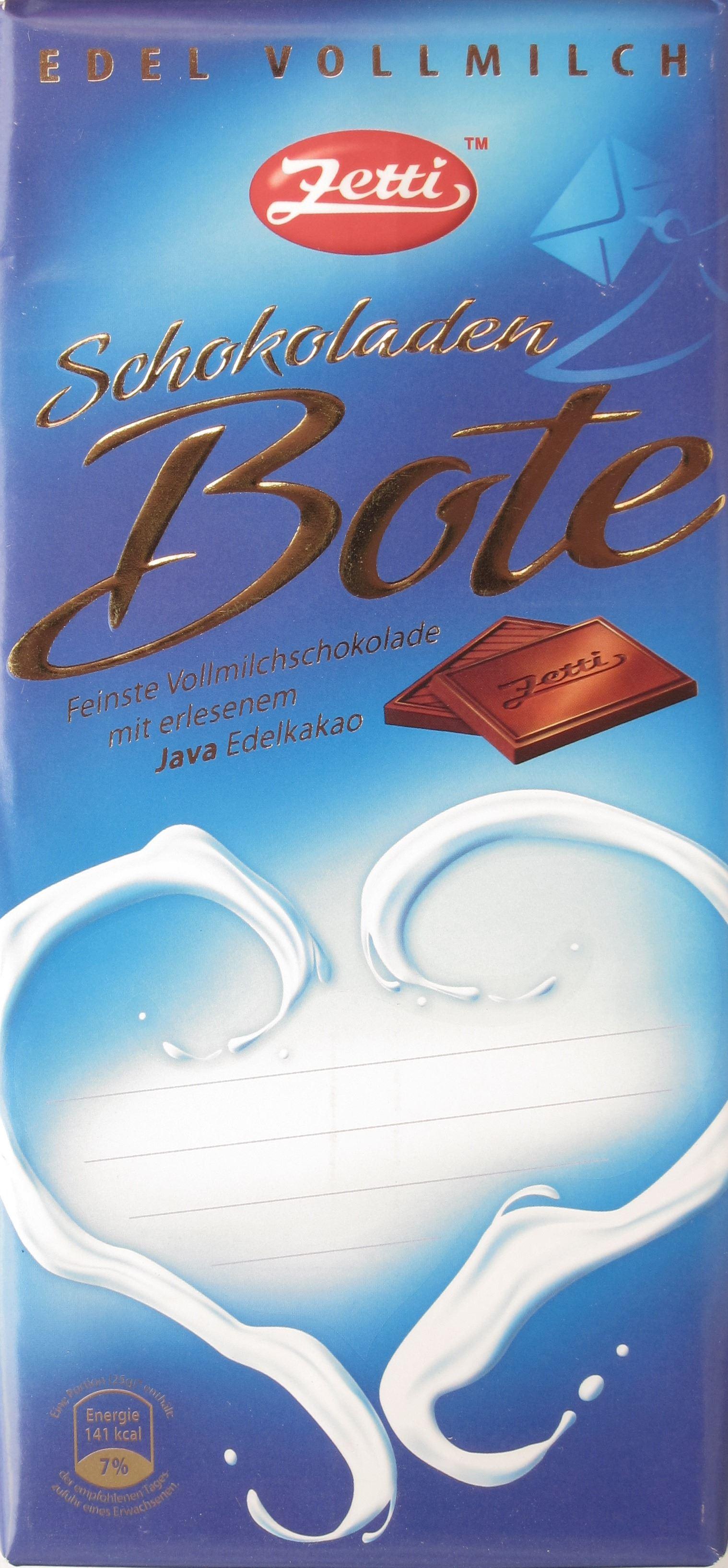 Zetti Vollmilchschokolade