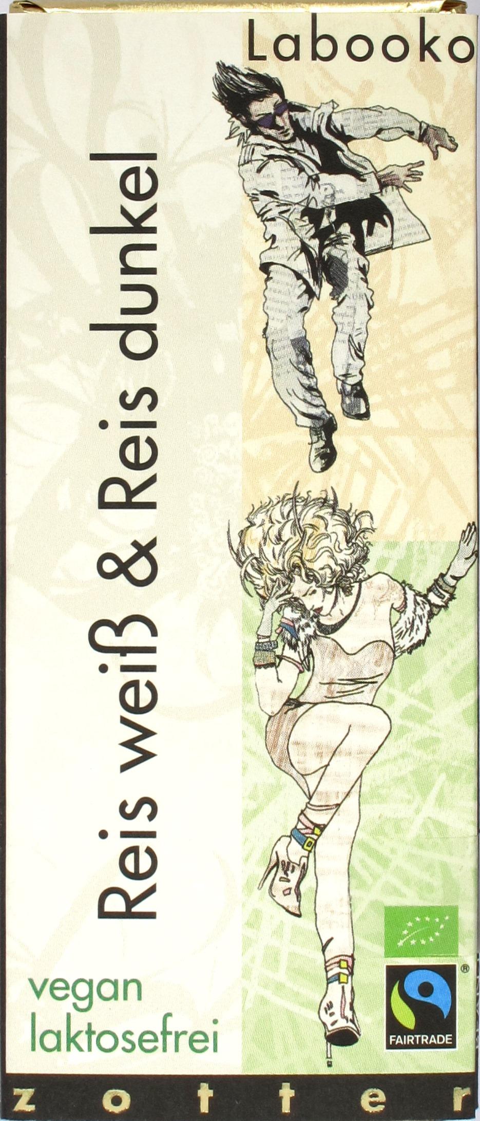 Umschlag: Zotter Reisschokoladen