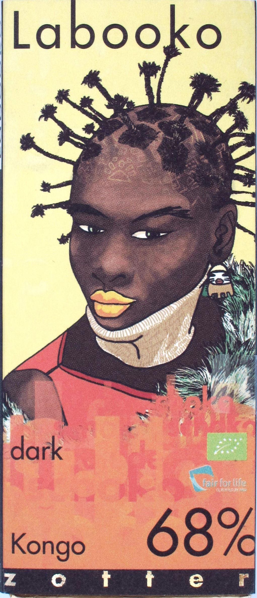 Rückseite: Labooko Kongo